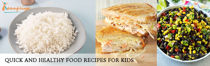 food recipes for kids