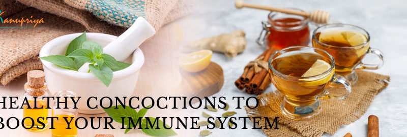 Healthy Concoctions to Boost Your Immune System