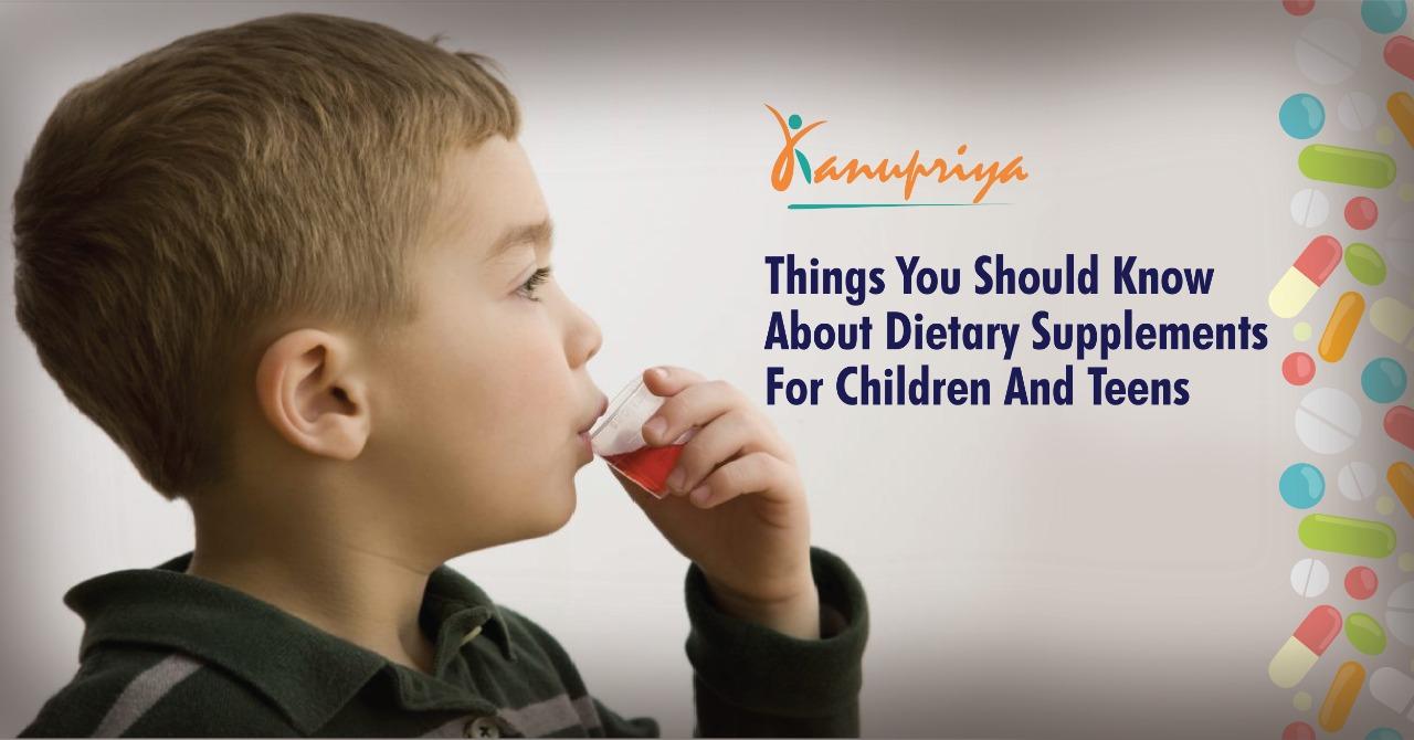 Dietary Supplements for Children