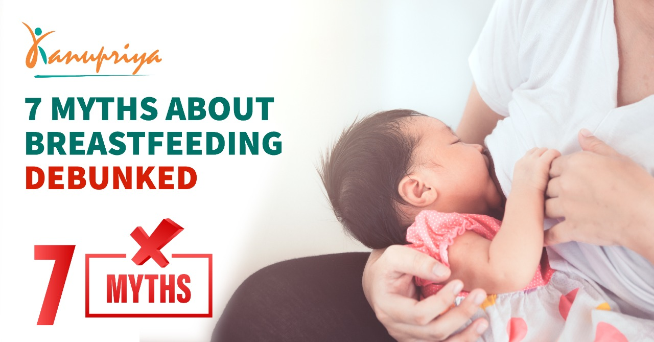 7 Myths About Breastfeeding Debunked
