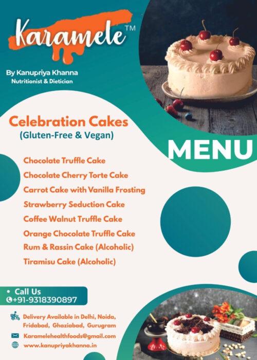 celebration cake vegan