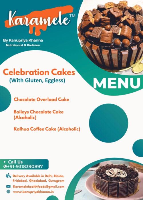 celebration cake without vegan eggless 2