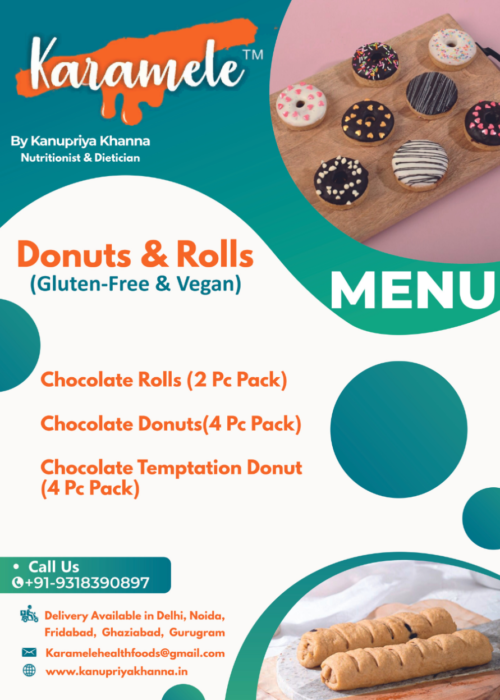 donuts and chocolate rolls