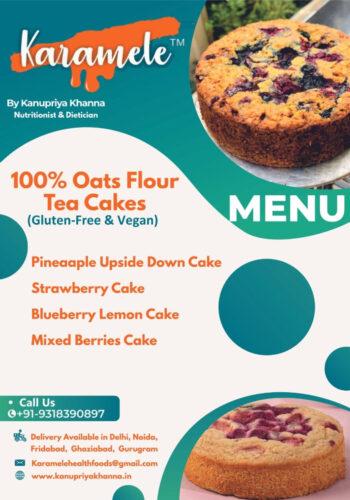 oats flour vegan menu